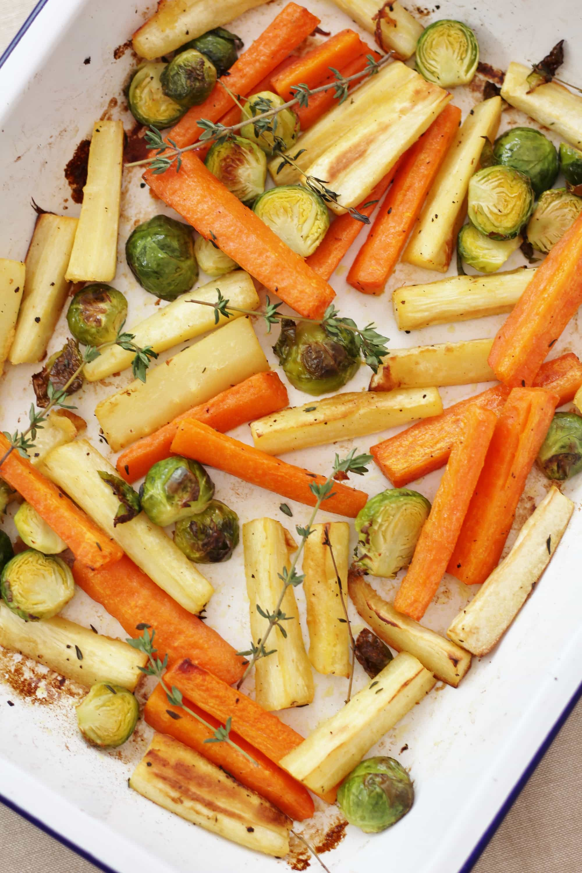 Easy Christmas Roast Vegetable Traybake