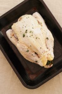 Gin Brined Chicken or Turkey