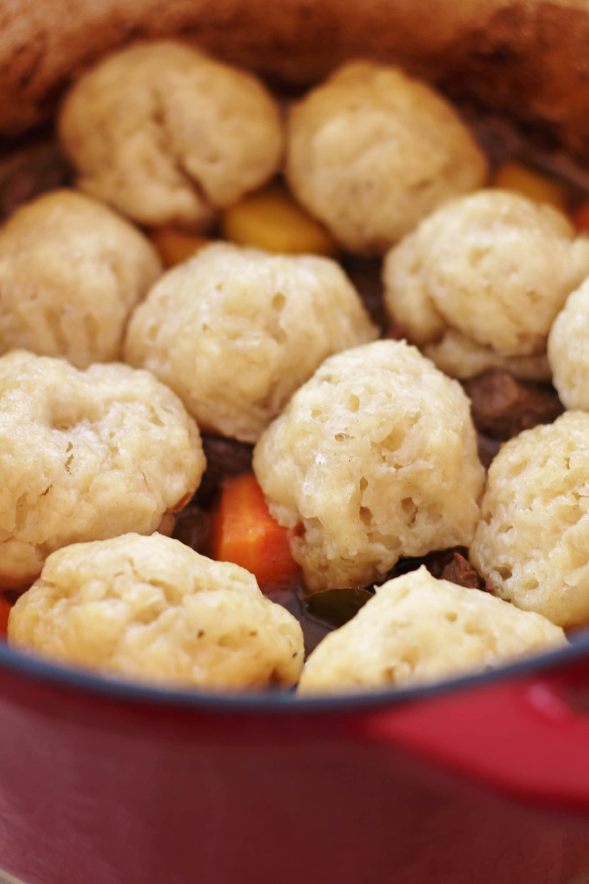 Beef And Ale Stew With Dumplings Easy Peasy Foodie