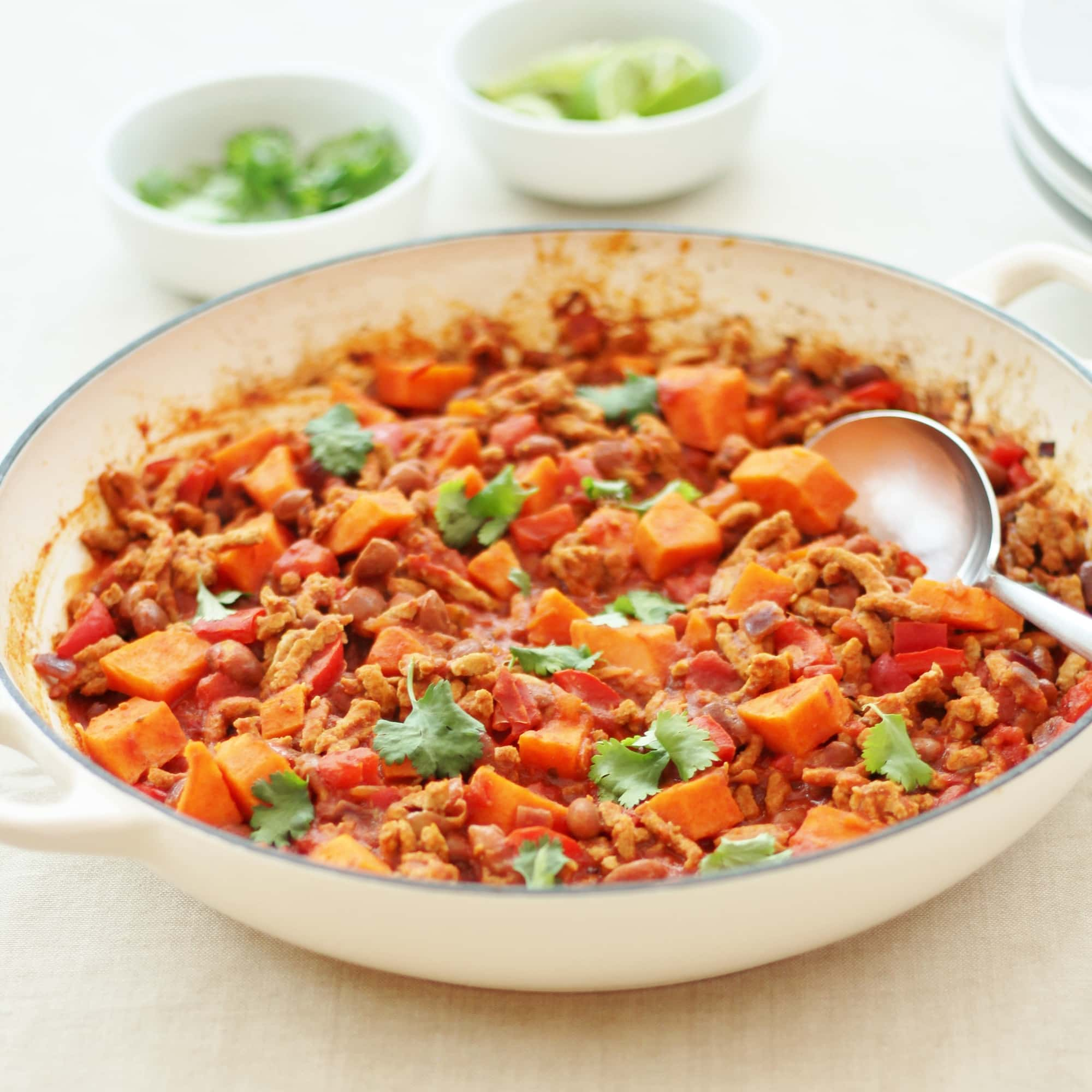 Pork And Sweet Potato Chilli Con Carne
