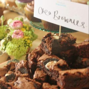 Oreo Brownies for Mother's Day