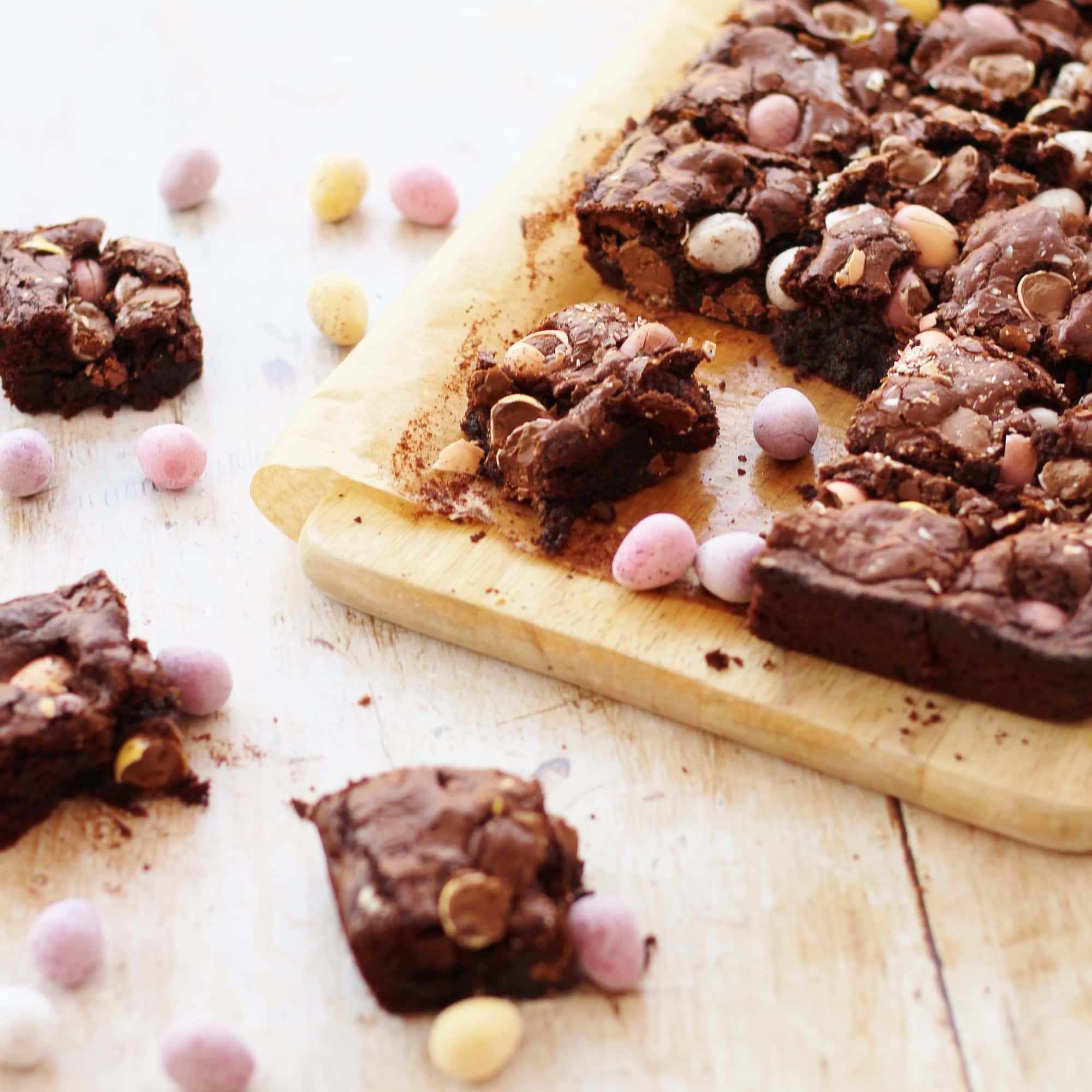 how to make mini brownies