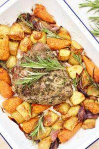 Herb Crusted Lamb Mini Roast