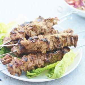 Greek Lamb Kebabs