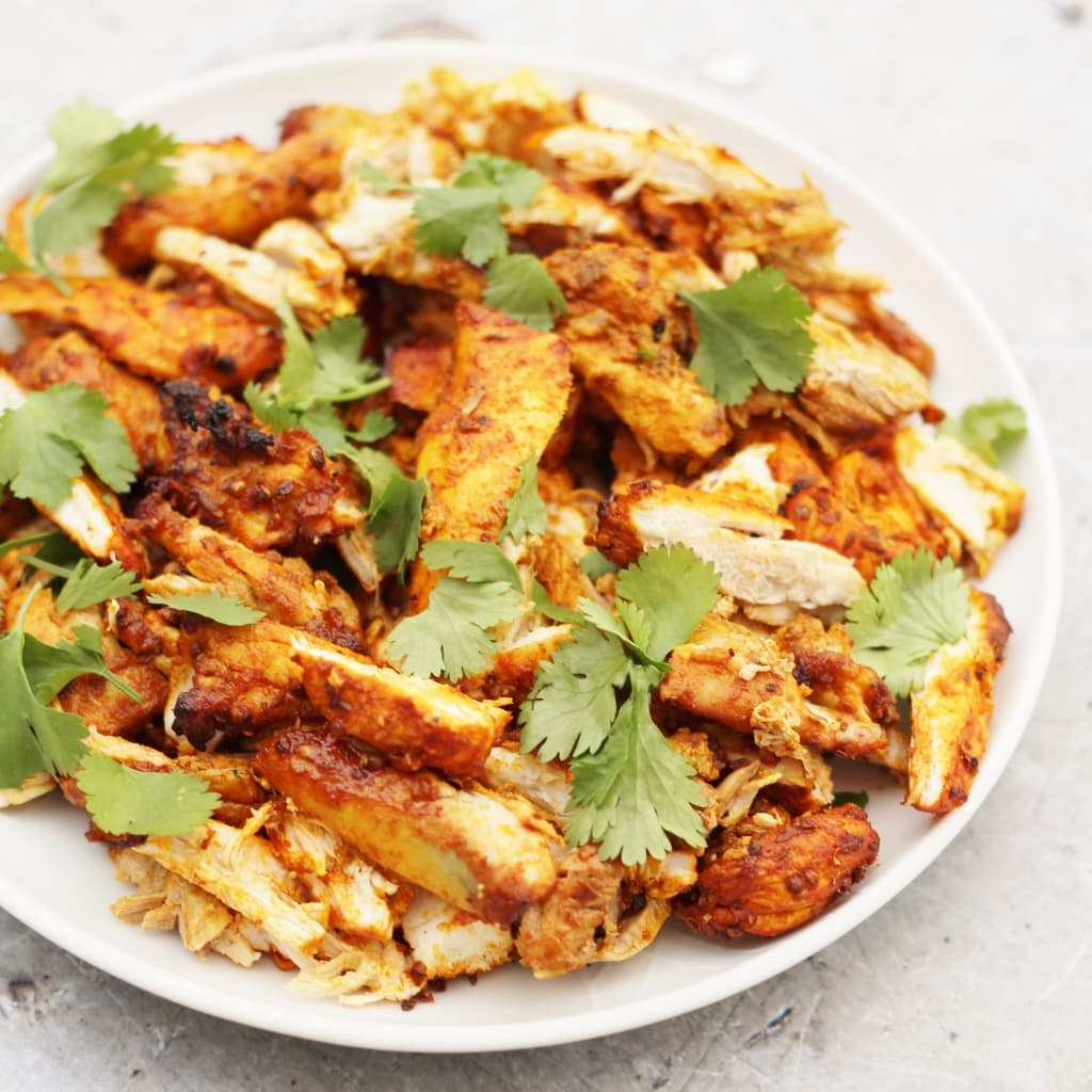 30 Stress Free Easy Camping Food Ideas Your Family Will: Oven Baked Chicken Shawarma With Garlic Sauce