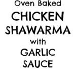 Have you tried chicken shawarma yet? If not then you have been missing a treat – the chicken is simply coated in a deliciously easy marinade, full of gorgeous Middle Eastern spices, and then roasted in the oven for 30 minutes – so simple, but unbelievably good! #chicken #shawarma
