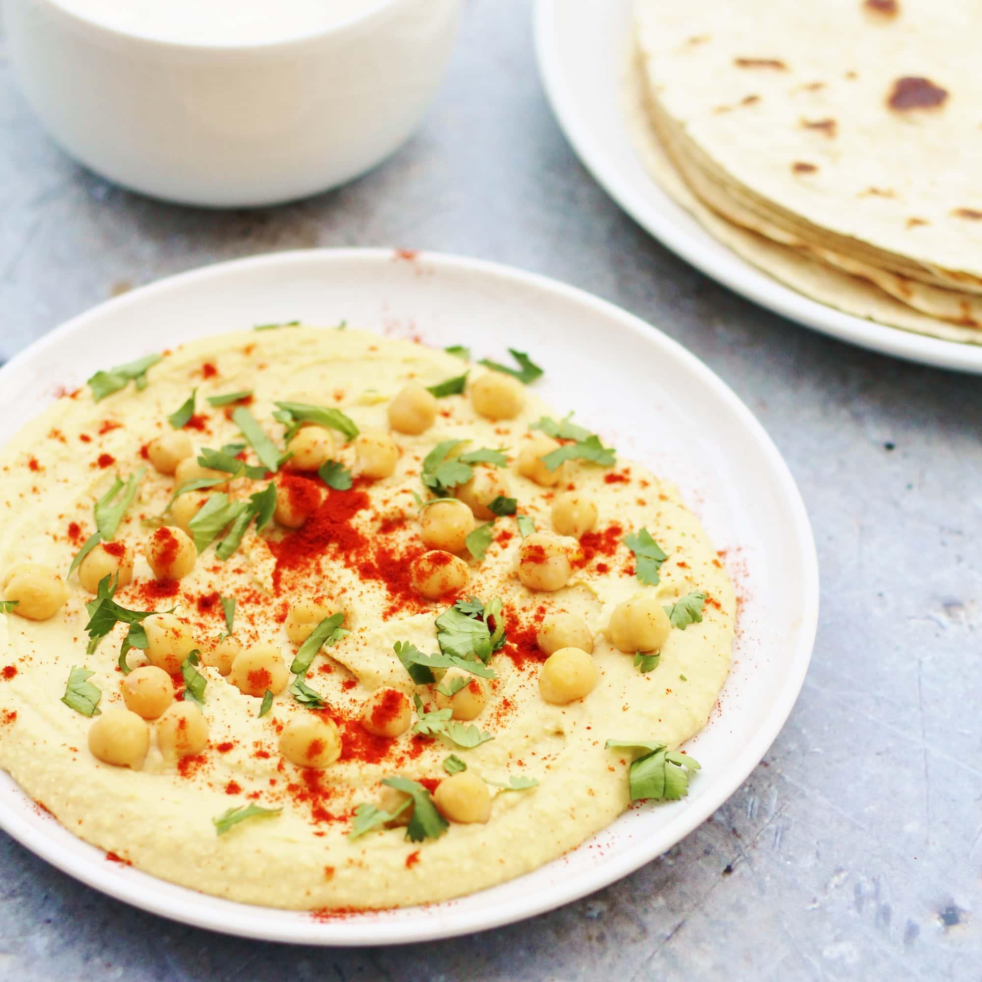 Perfect Homemade Hummus (Vegan)