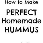 For the longest time, a Perfect Homemade Hummus recipe has eluded me…try as I might, I just haven't been able to get the recipe tasting just right, and it has never been quite smooth enough – but not any longer. I have finally created the recipe for perfect homemade hummus – and it's waaay better than the hummus you get in the shops! #hummus #houmous #chickpeas