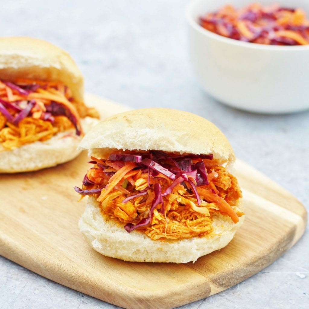 Slow Cooker Bbq Chicken Sliders And Crock Pot Review Easy Peasy Foodie