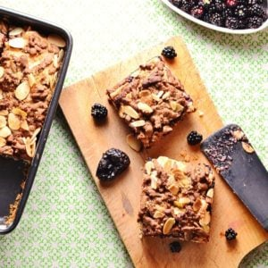 Blackberry Prune Squares