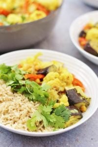 Easy Vegetable Korma (Vegan)