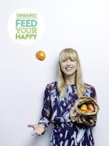 Sara Cox - ambassador for Organic Feed Your Happy campaign