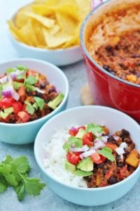 Slow Cooked Beef and Pumpkin Chilli