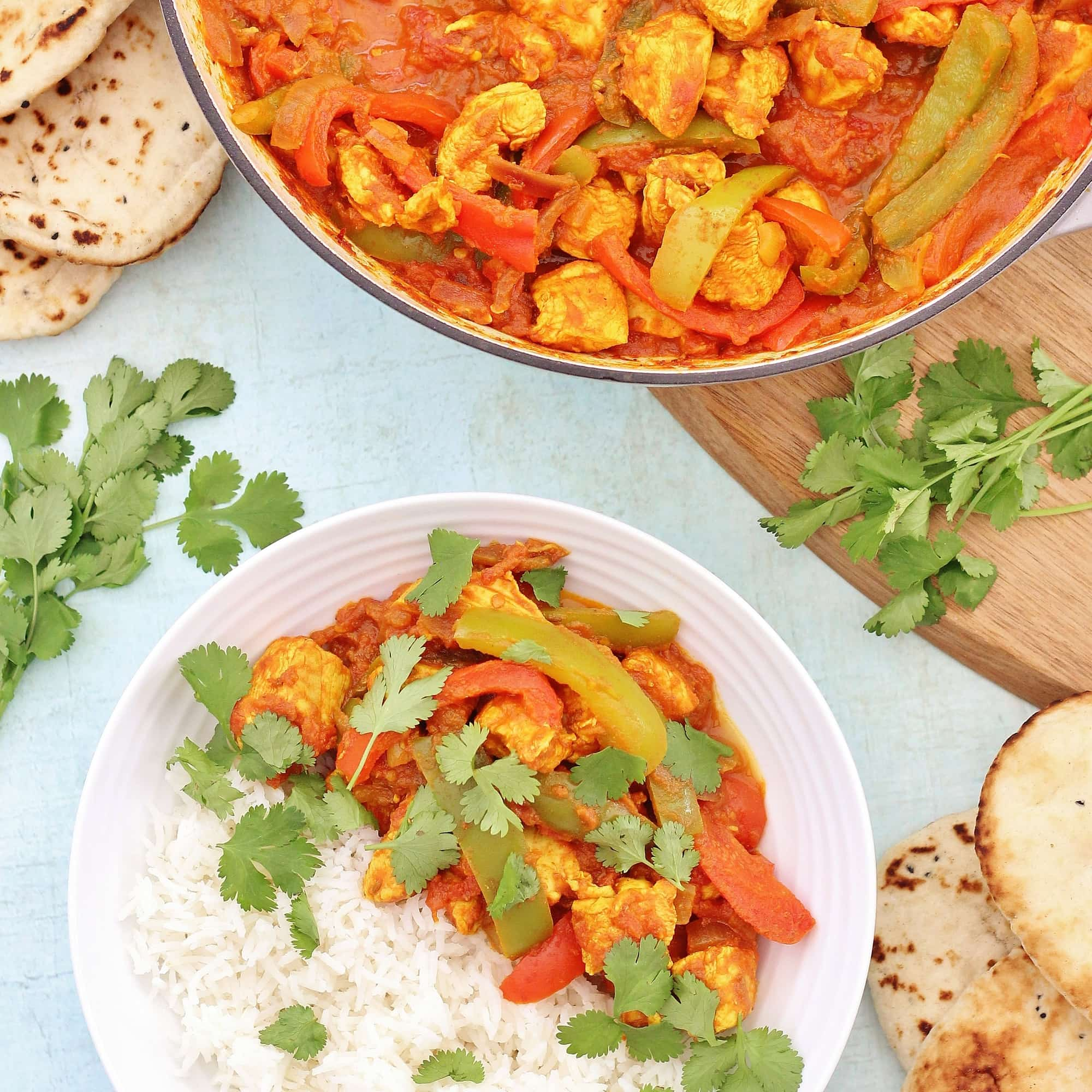Easy Chicken Jalfrezi Easy Peasy Foodie