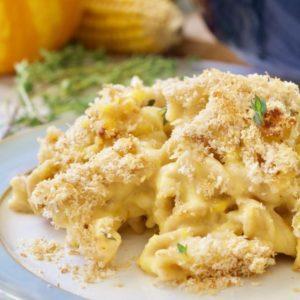 Pumpkin Macaroni Cheese