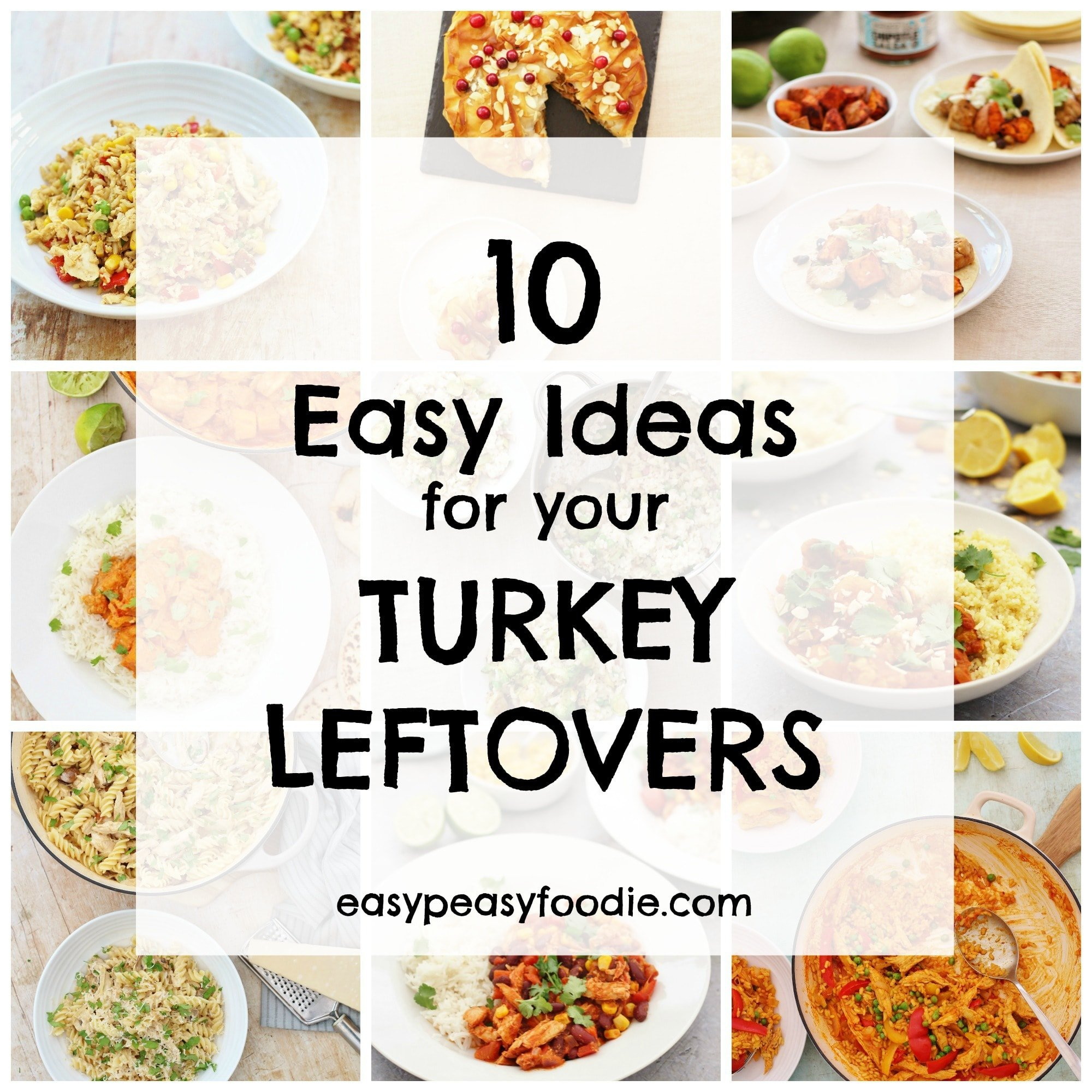 What To Do With The Leftovers Turkey Sandwich Anyone: 10 Easy Ideas For Your Turkey Leftovers