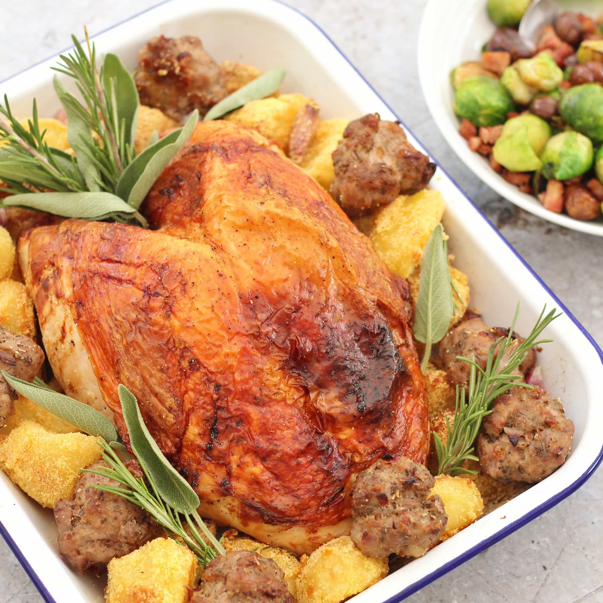 Easy Roast Turkey Crown Recipe