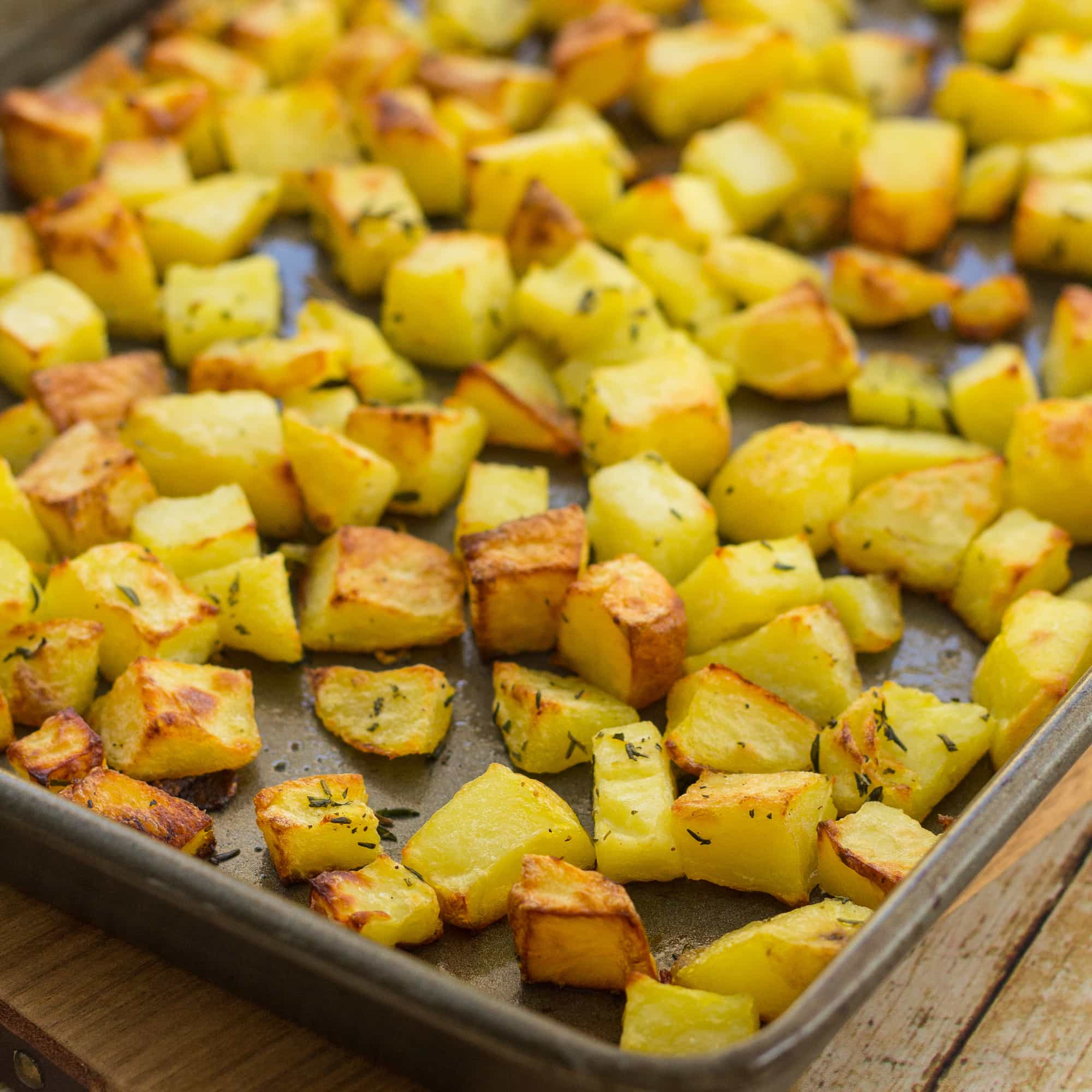 Easy Way To Cook Roasted Red Potatoes: Easy Homemade Parmentier Potatoes
