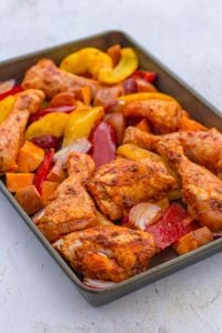 Mexican Chicken Traybake
