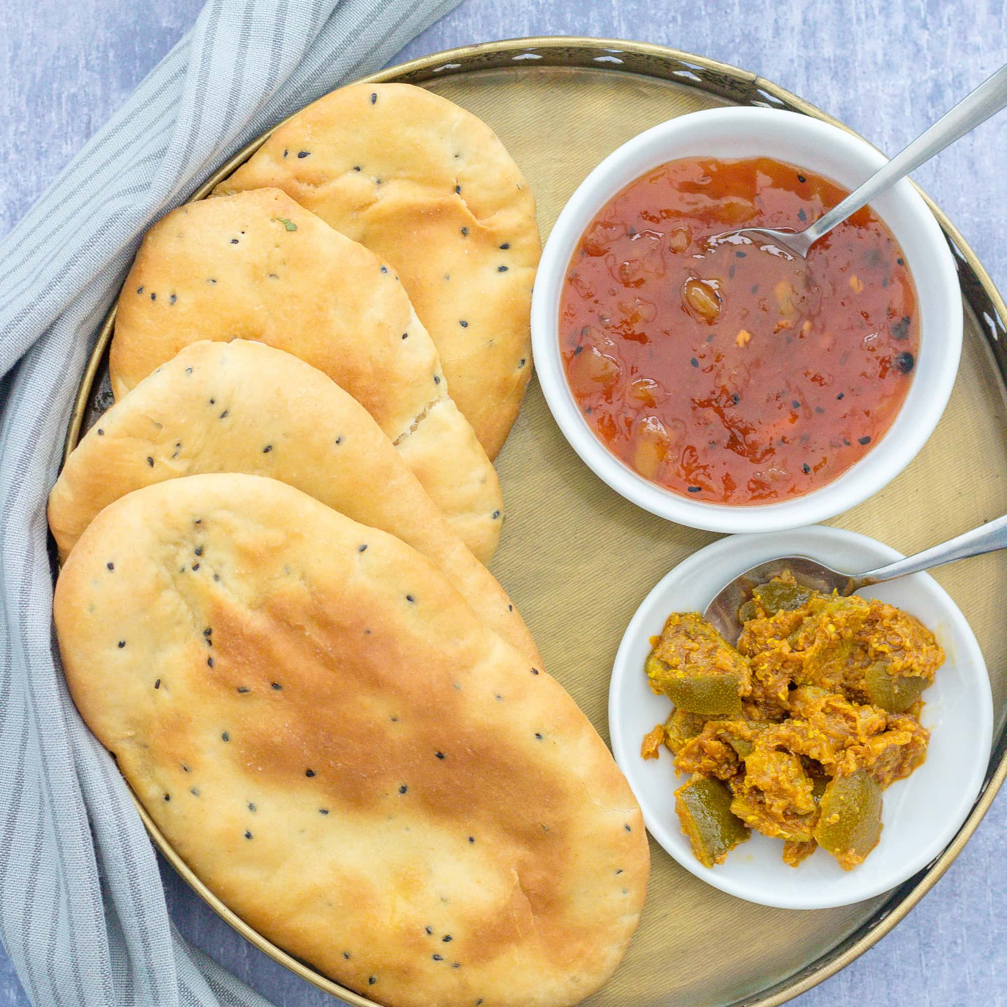 Easy Homemade Naan Bread Easy Peasy Foodie
