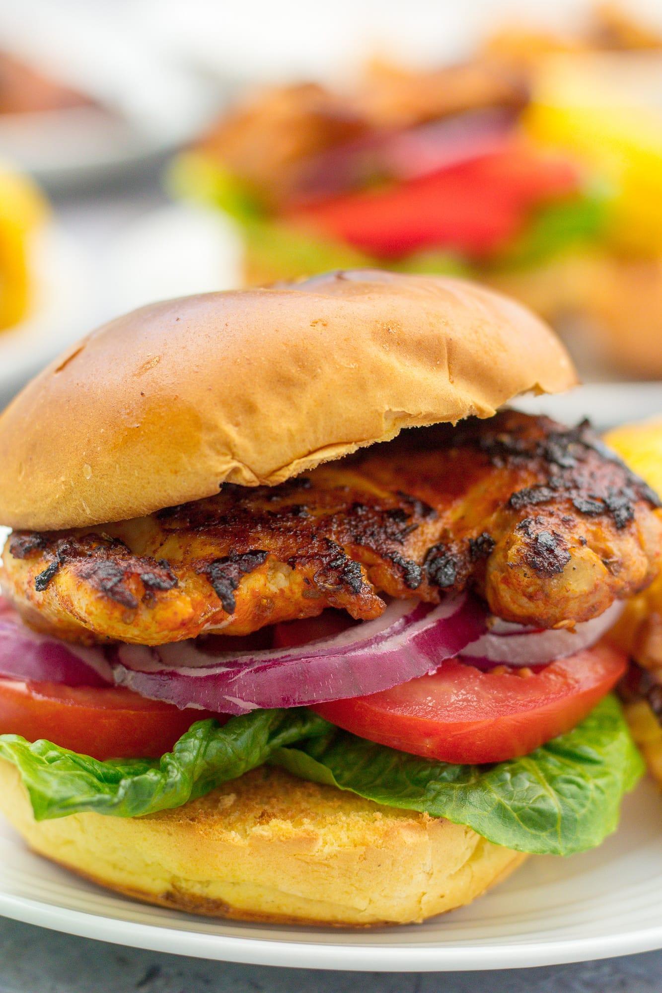 Peri Peri Chicken Burger Nandos Copycat