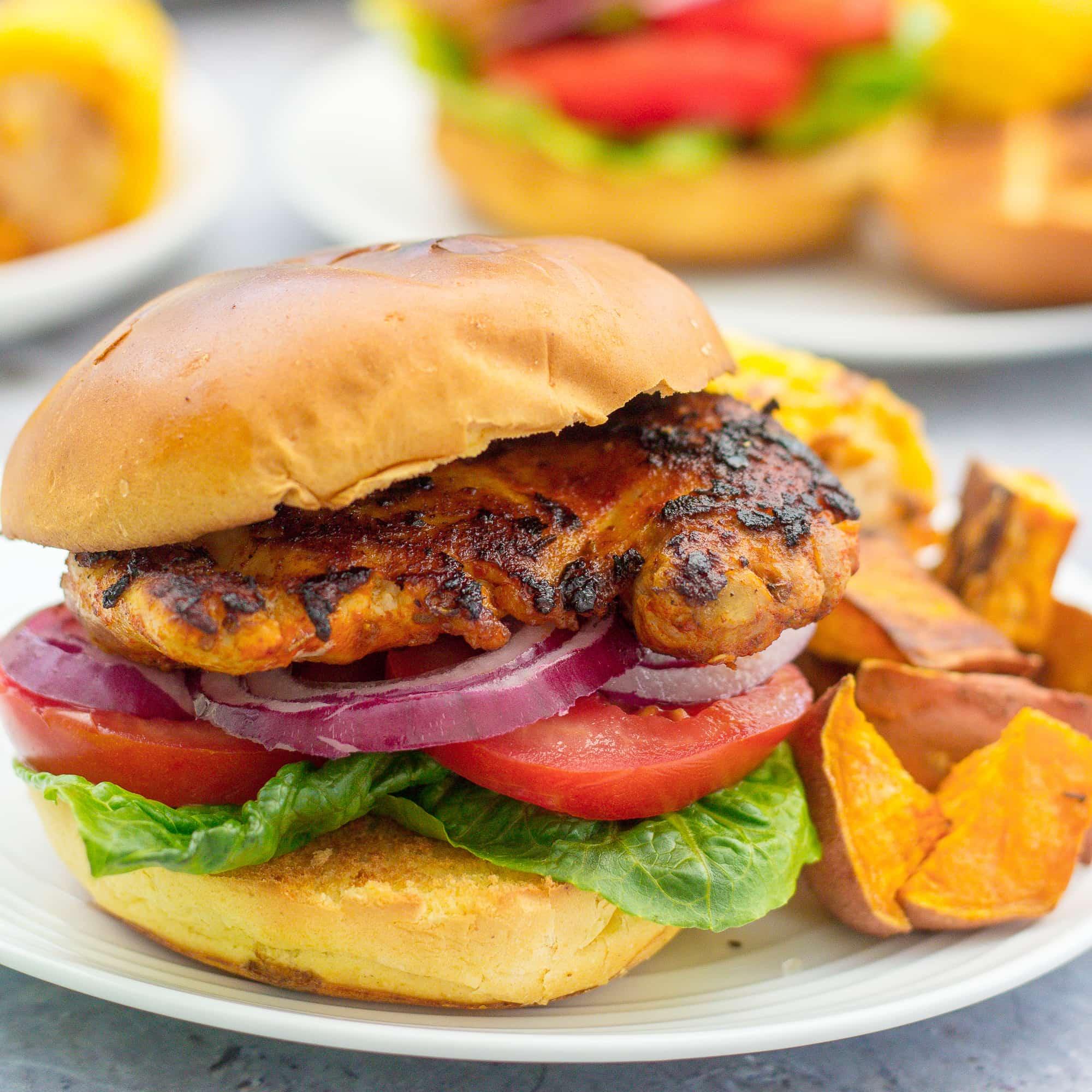 Peri Peri Chicken Burgers Nando S Copycat Easy Peasy Foodie