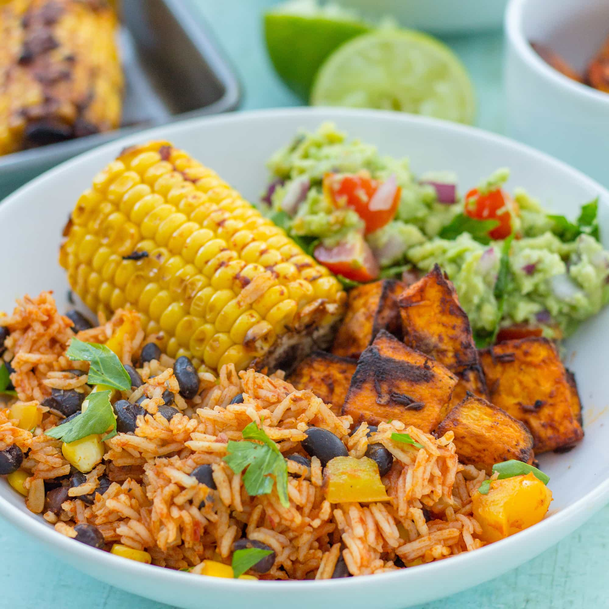 Easy One Pot Mexican Rice With Black Beans And Corn Vegan Easy Peasy Foodie