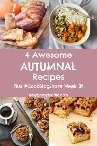 4 Awesome Autumnal Recipes
