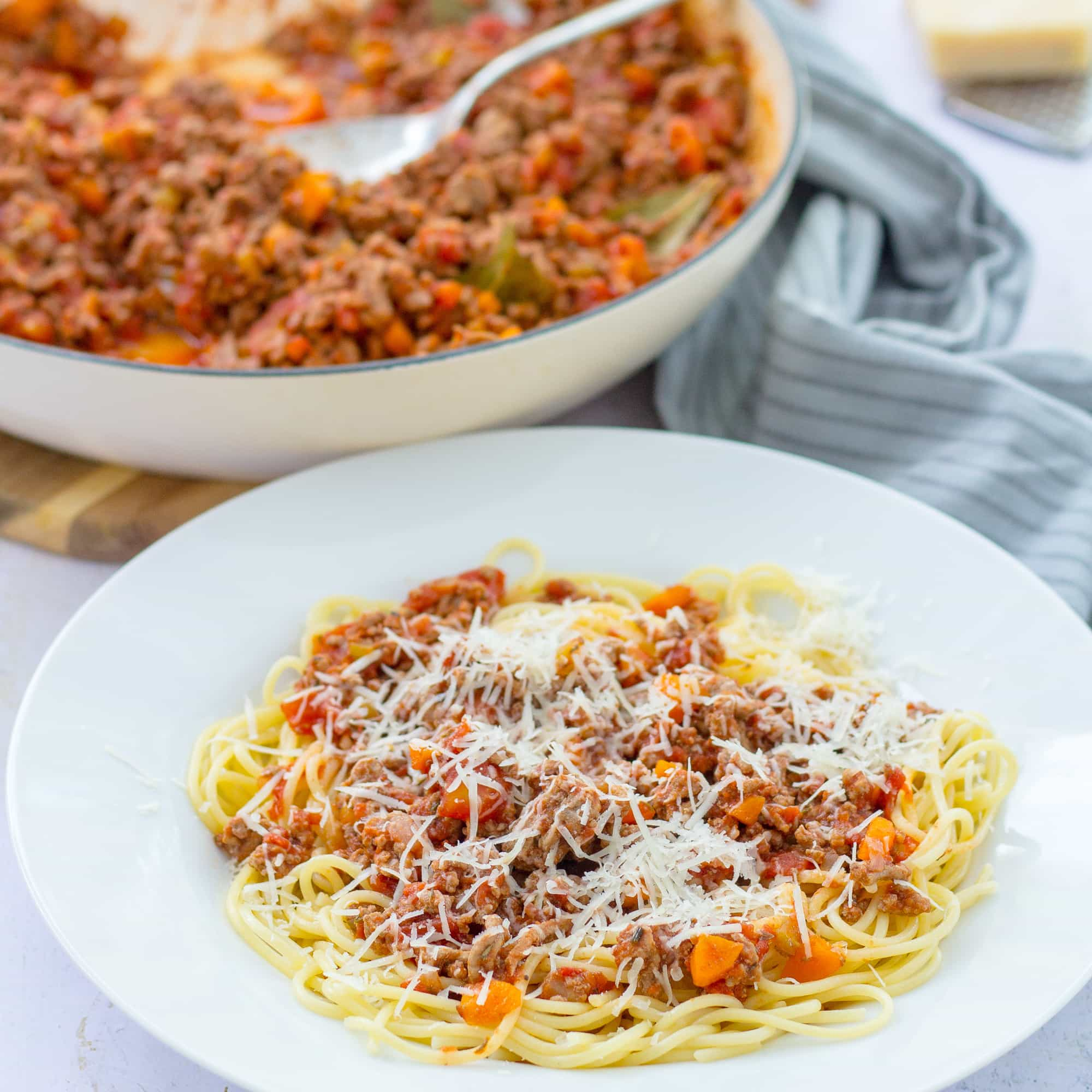 Easy Lamb Bolognese Easy Peasy Foodie