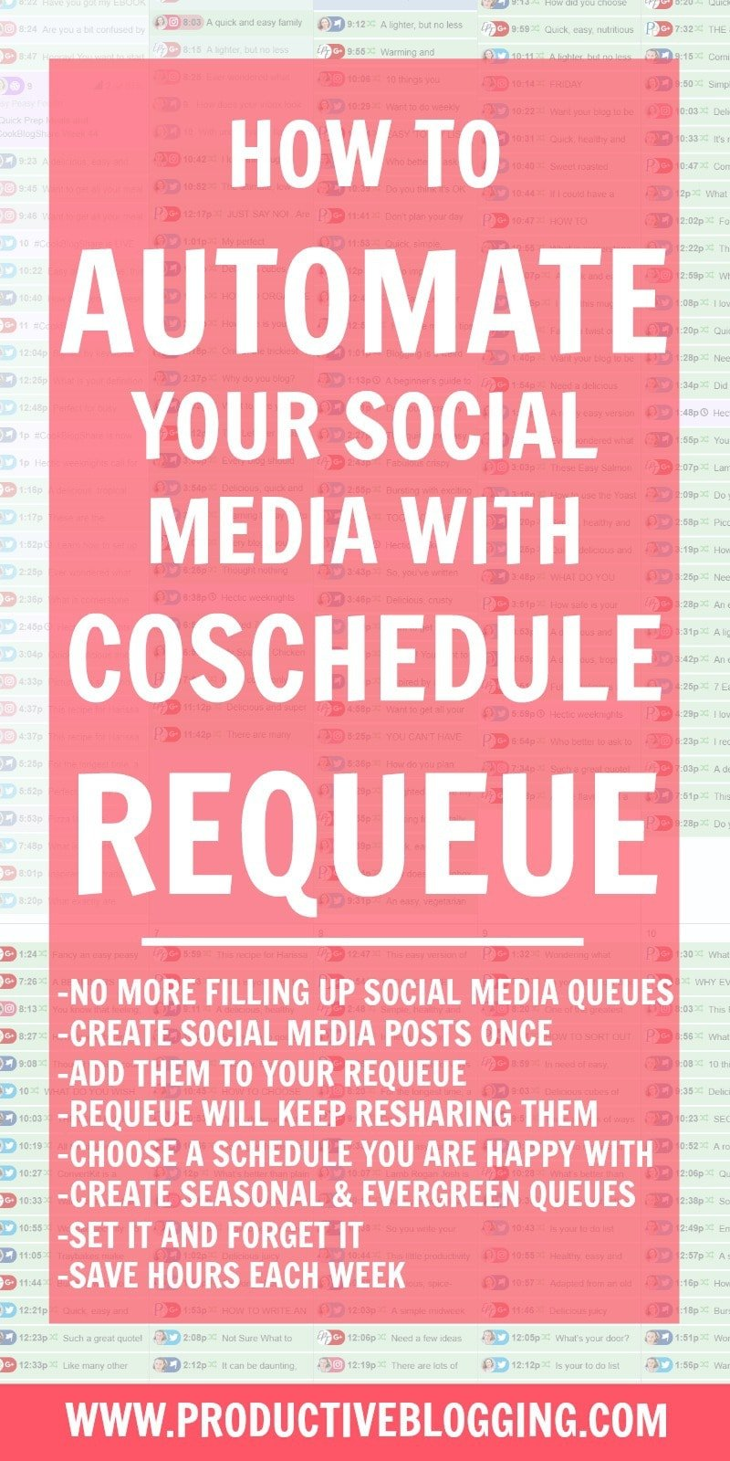 How to automate your social media with CoSchedule ReQueue