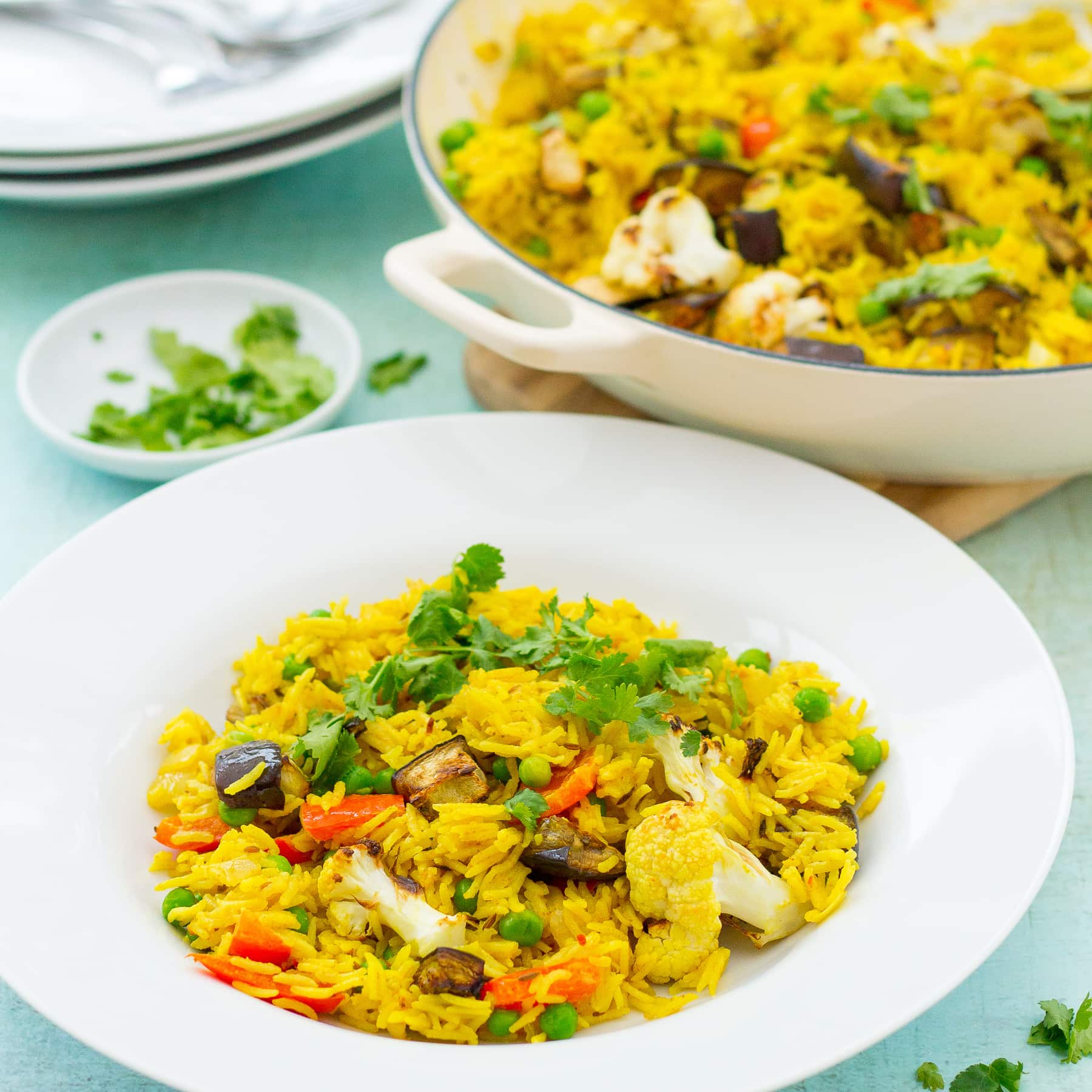 Easy Vegetable Biryani