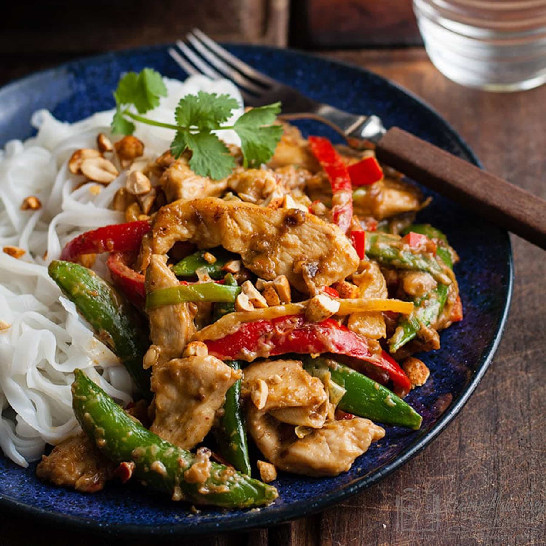 Nutty Chicken Stir Fry