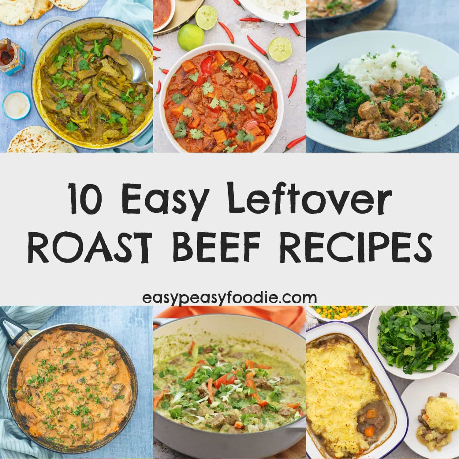 10 Easy Leftover Roast Beef Recipes