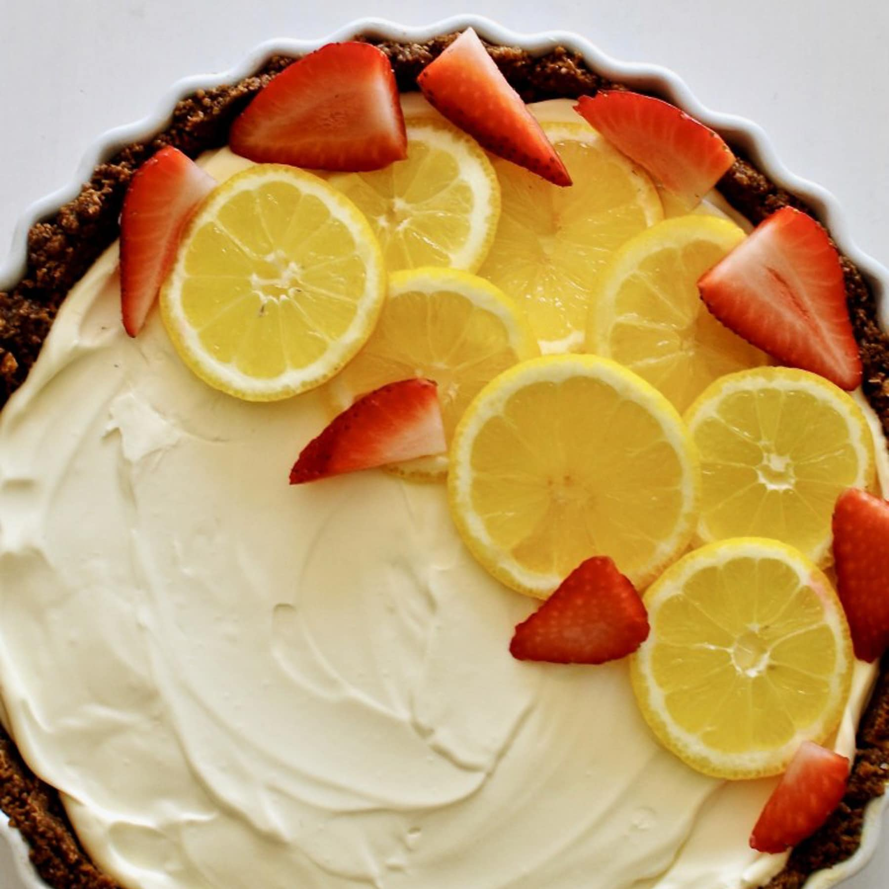 The Ultimate No-bake Lemon Cheesecake
