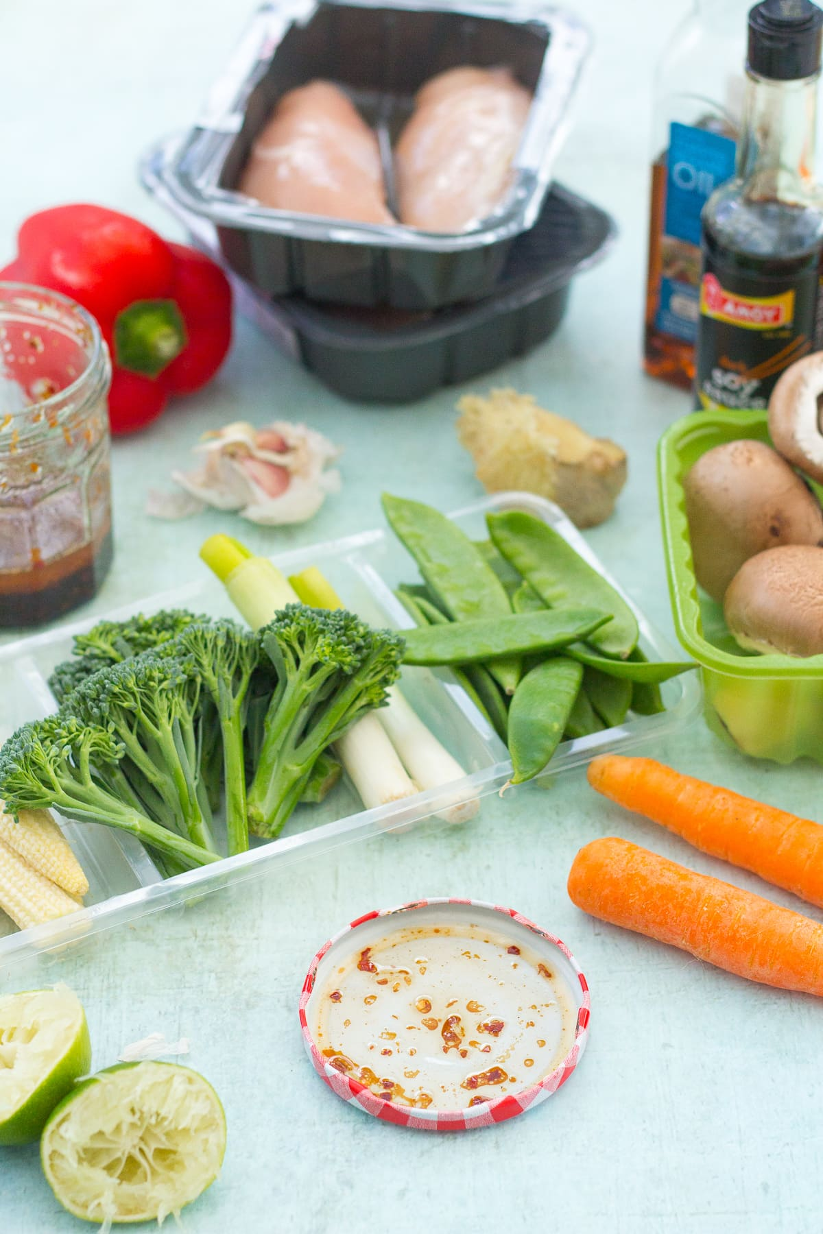 Easy Homemade Chicken Stir Fry Ingredients