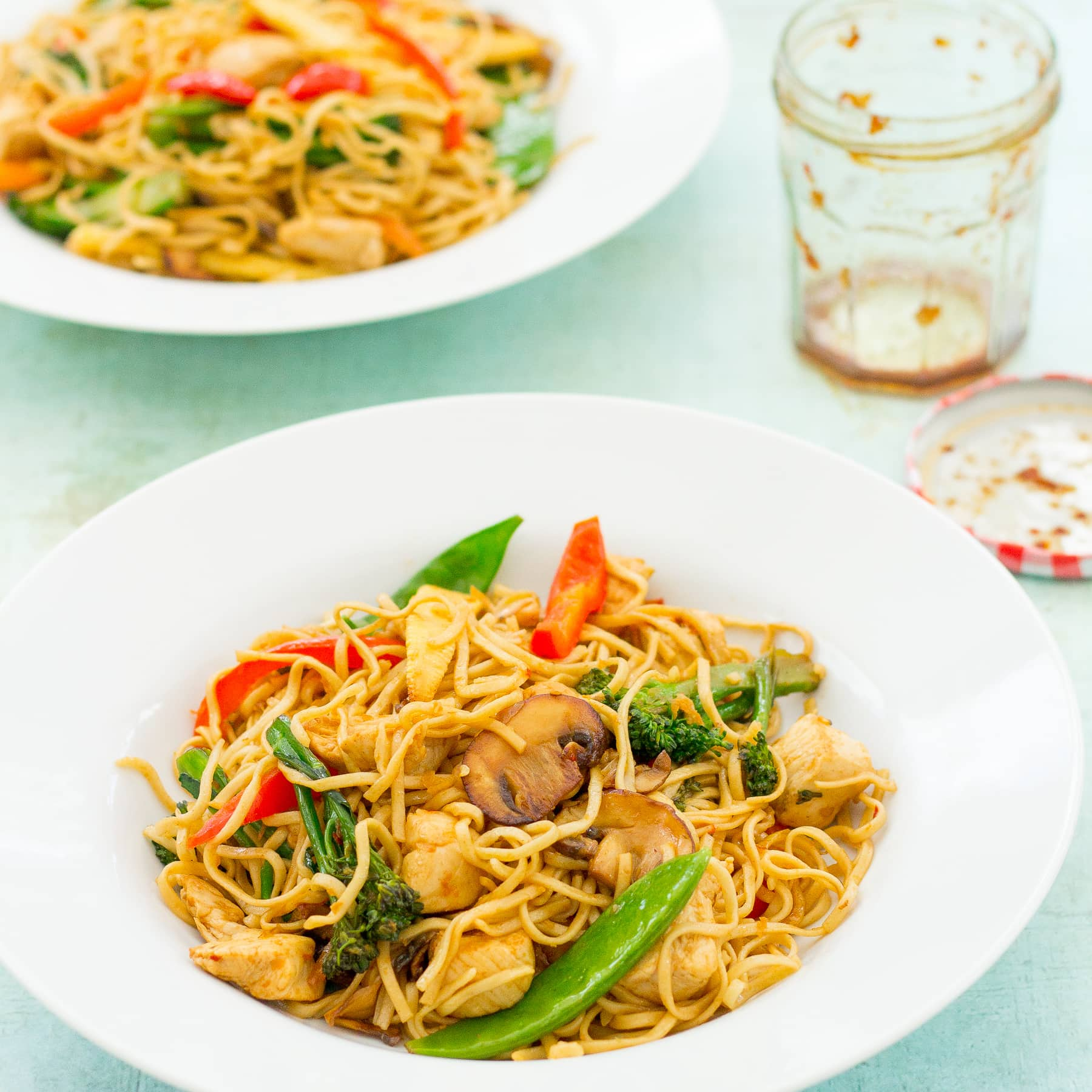 Easy Homemade Chicken Stir Fry With Noodles Easy Peasy Foodie