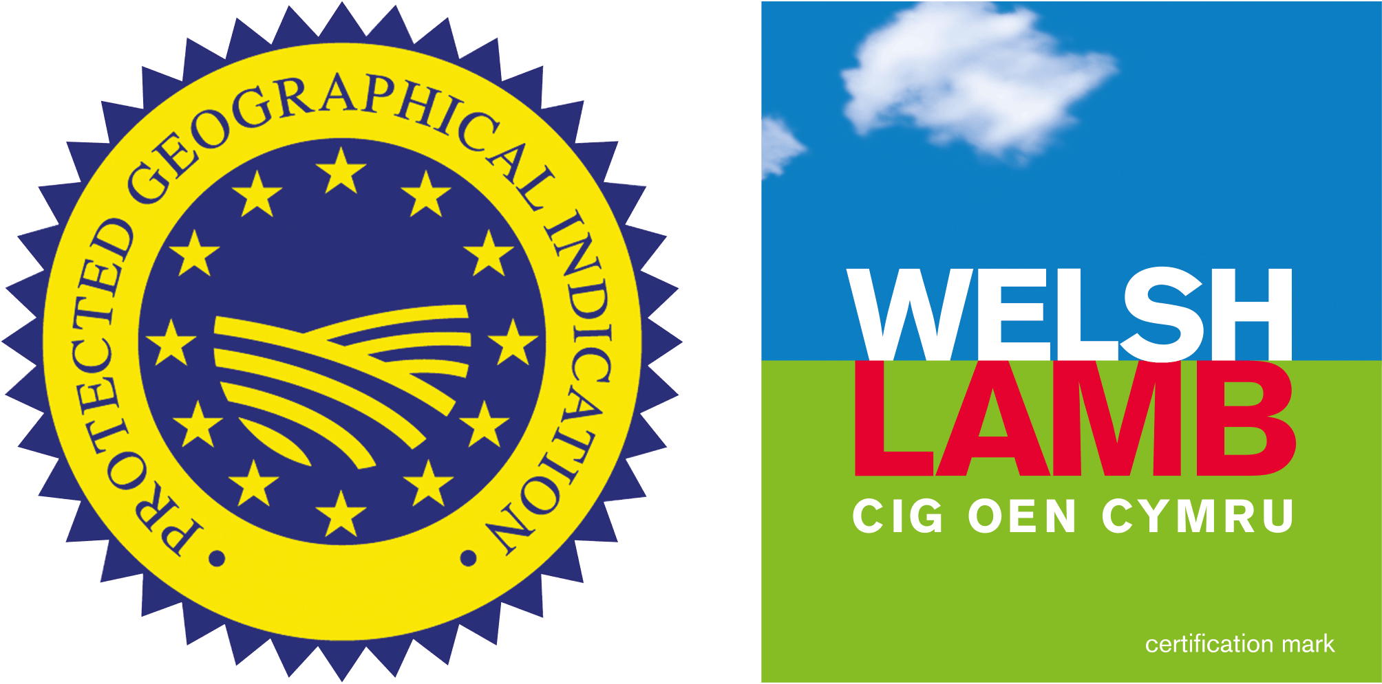 PGI and Welsh Lamb Logo