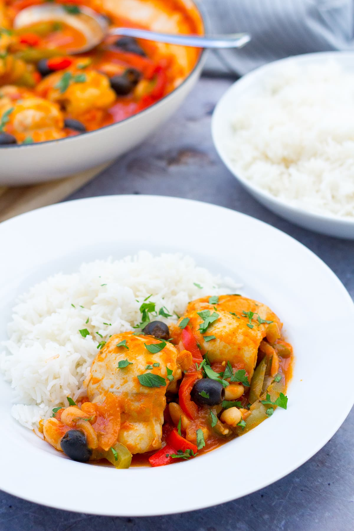 Easy Spanish Chicken Stew