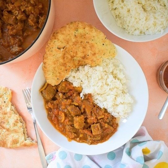 Leftover Roast Beef Curry