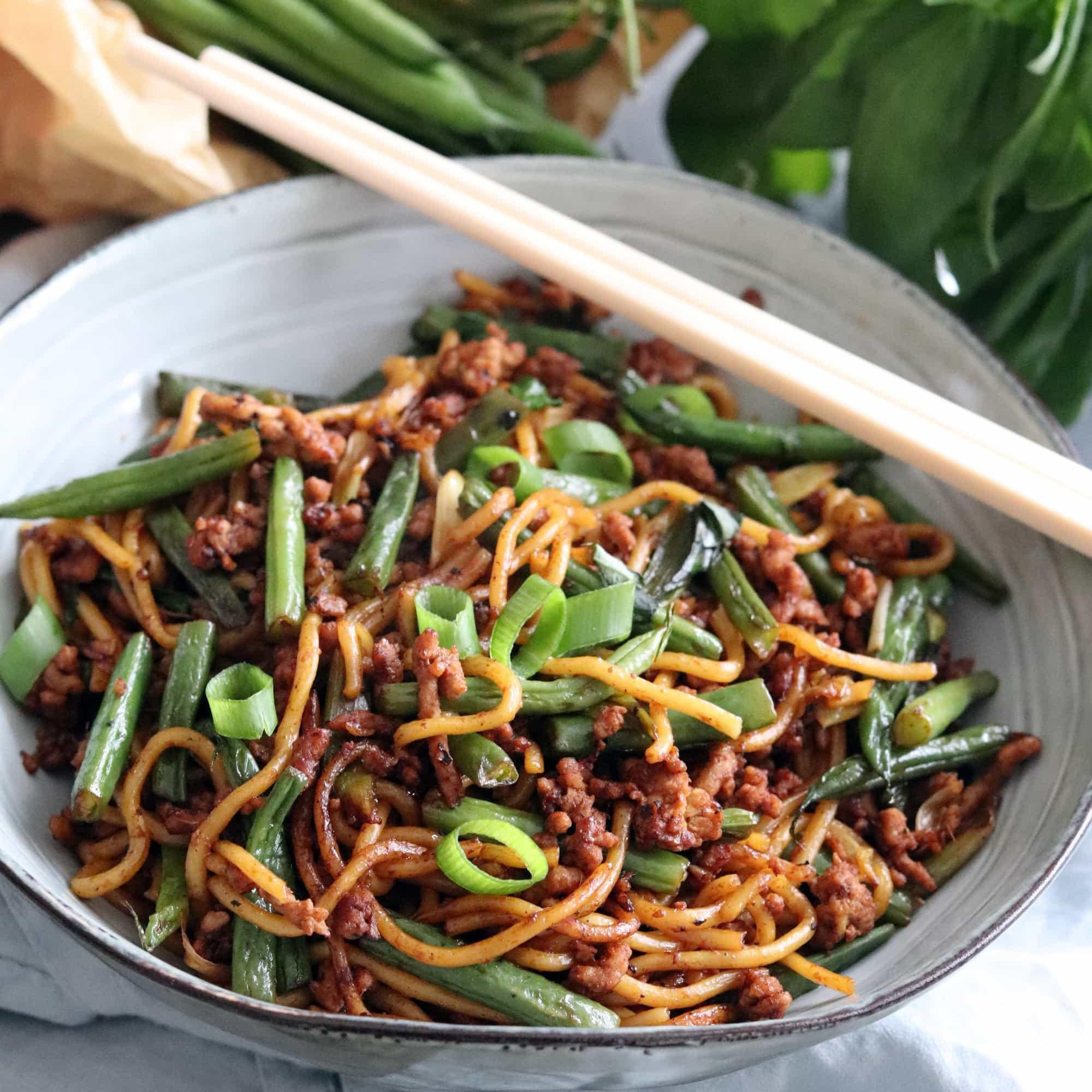 Pork & Green Bean Stir Fry