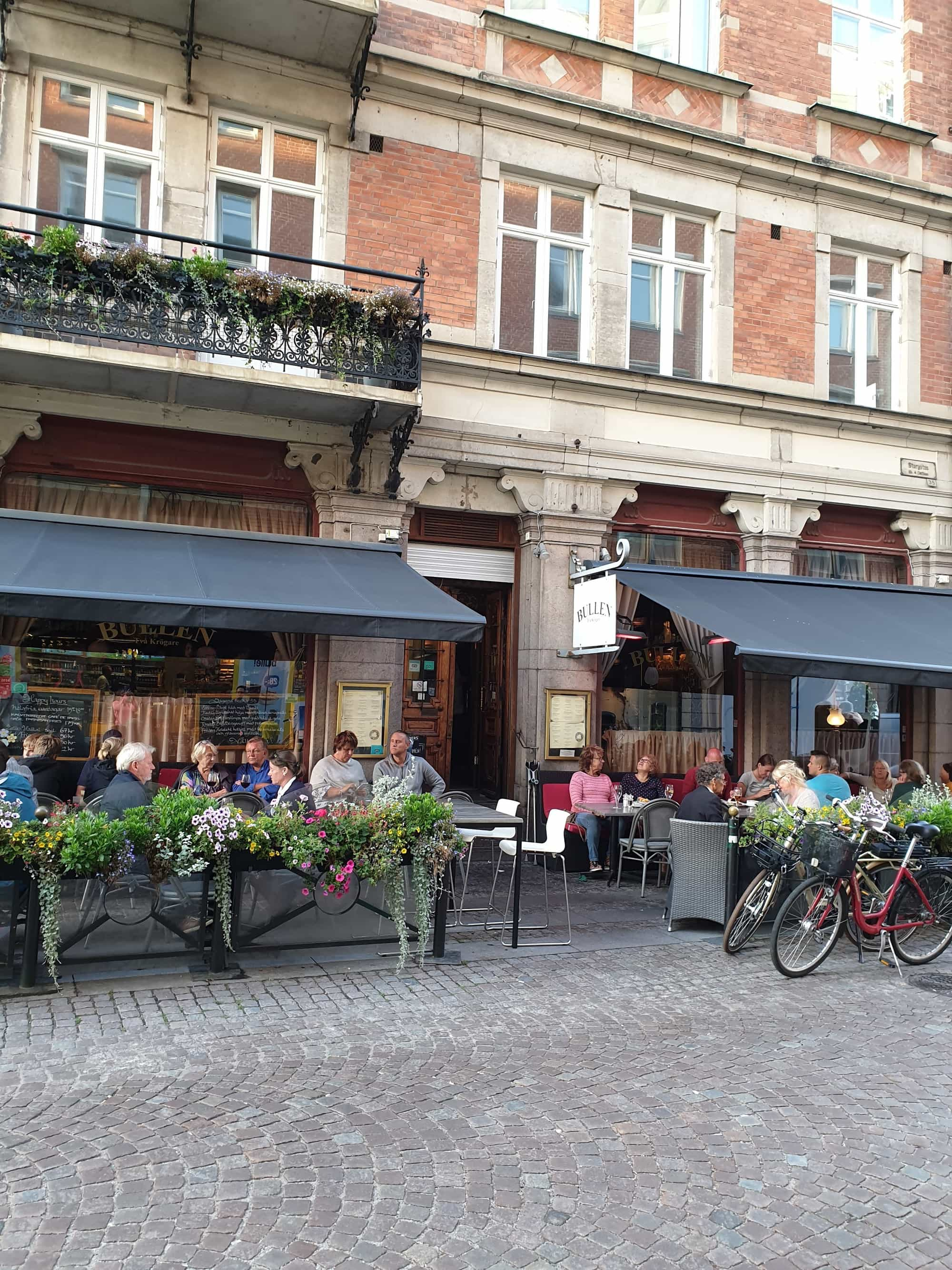 Bullen Restaurant in Malmo Sweden