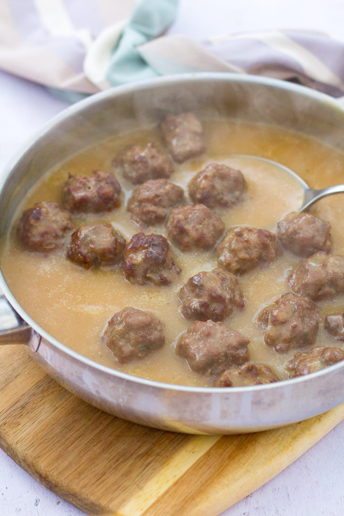 Easy Homemade Swedish Meatballs (IKEA Copycat)