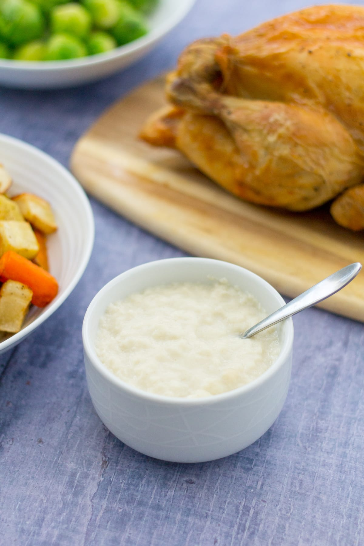 Easy Peasy Bread Sauce