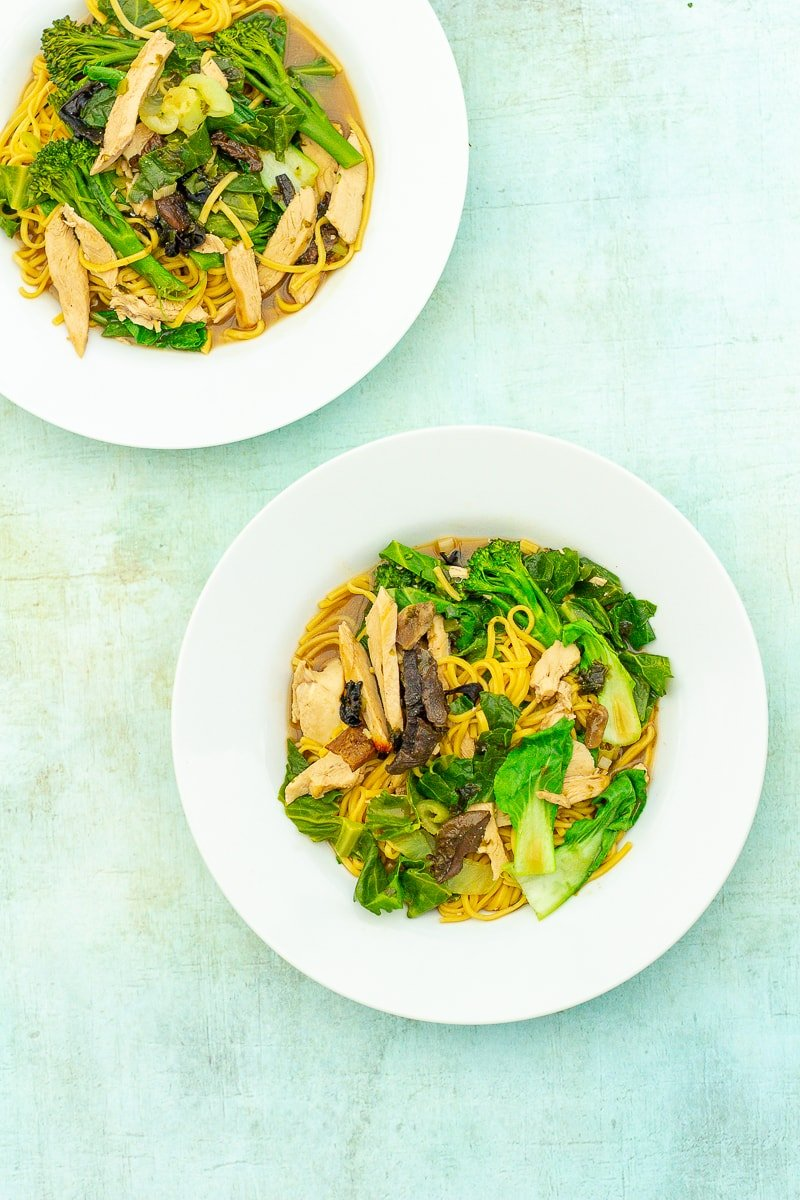 Easy One Pot Chicken Ramen