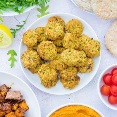 Easy Oven Baked Falafel (Vegan)