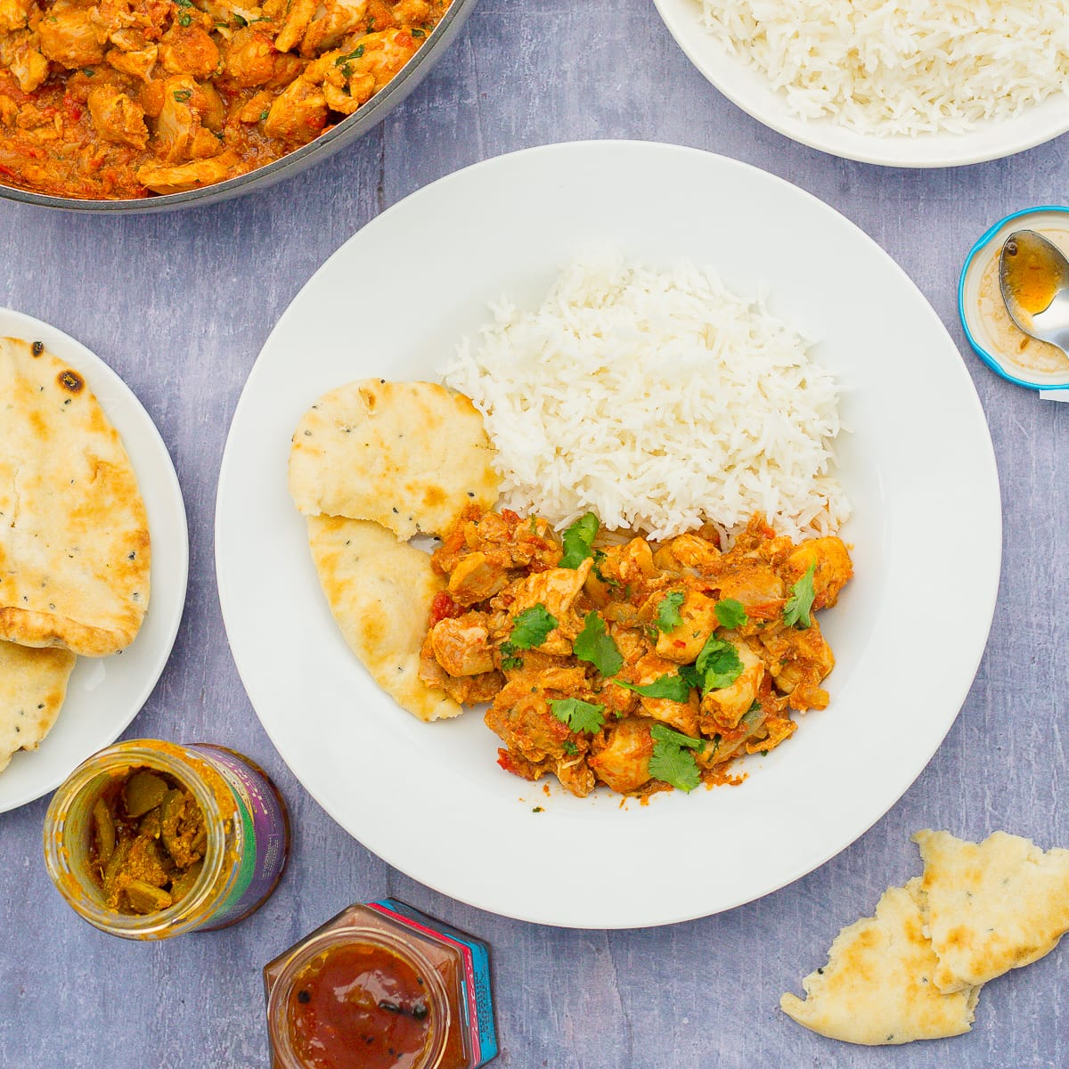 Slow Cooked Chicken Bhuna