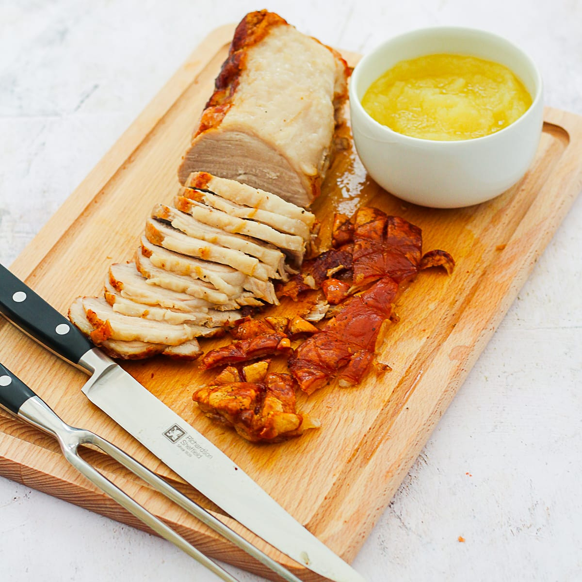 Easy Roast Pork With Perfect Crackling Easy Peasy Foodie