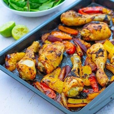 Peri Peri Chicken Traybake