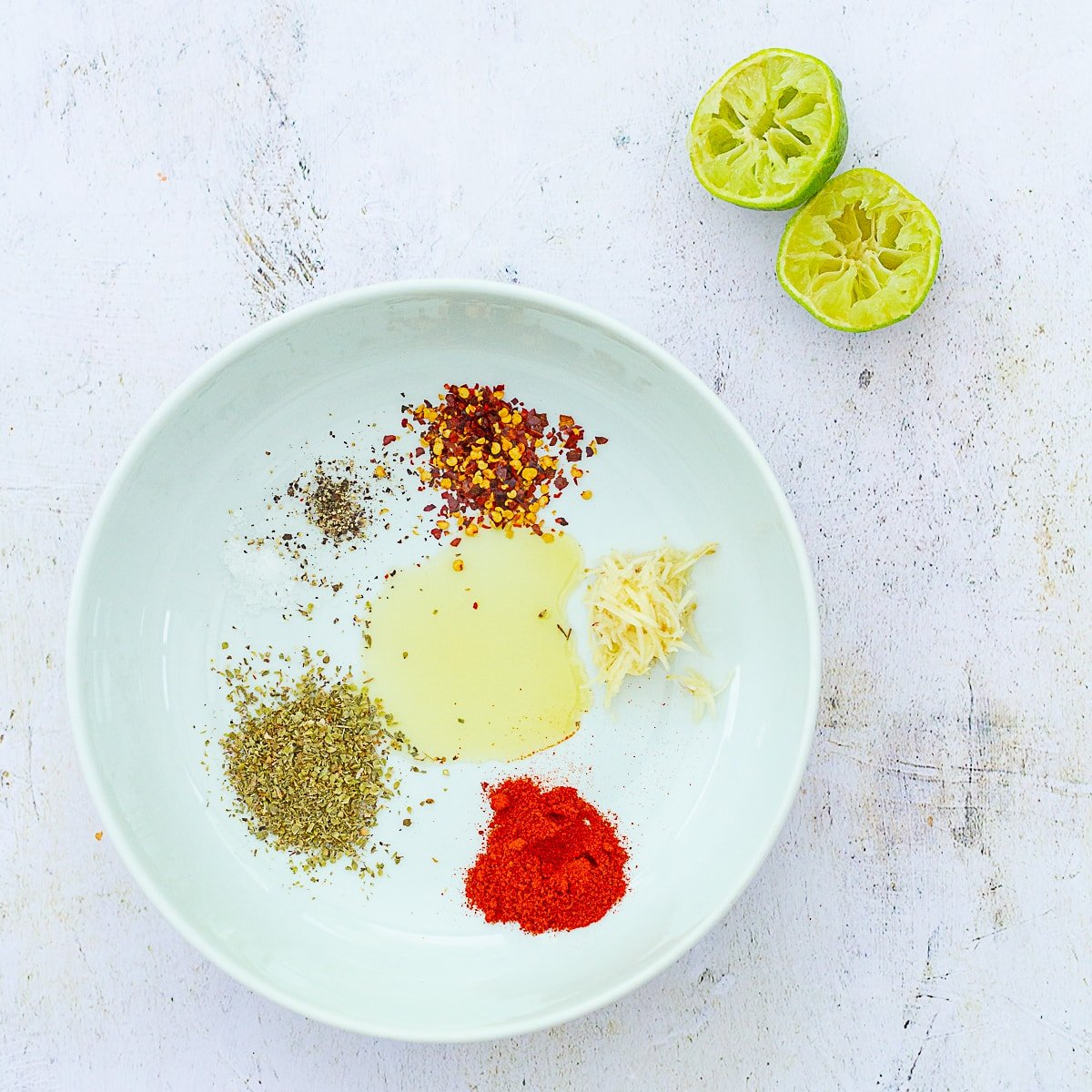 Ingredient for Homemade Peri Peri Marinade