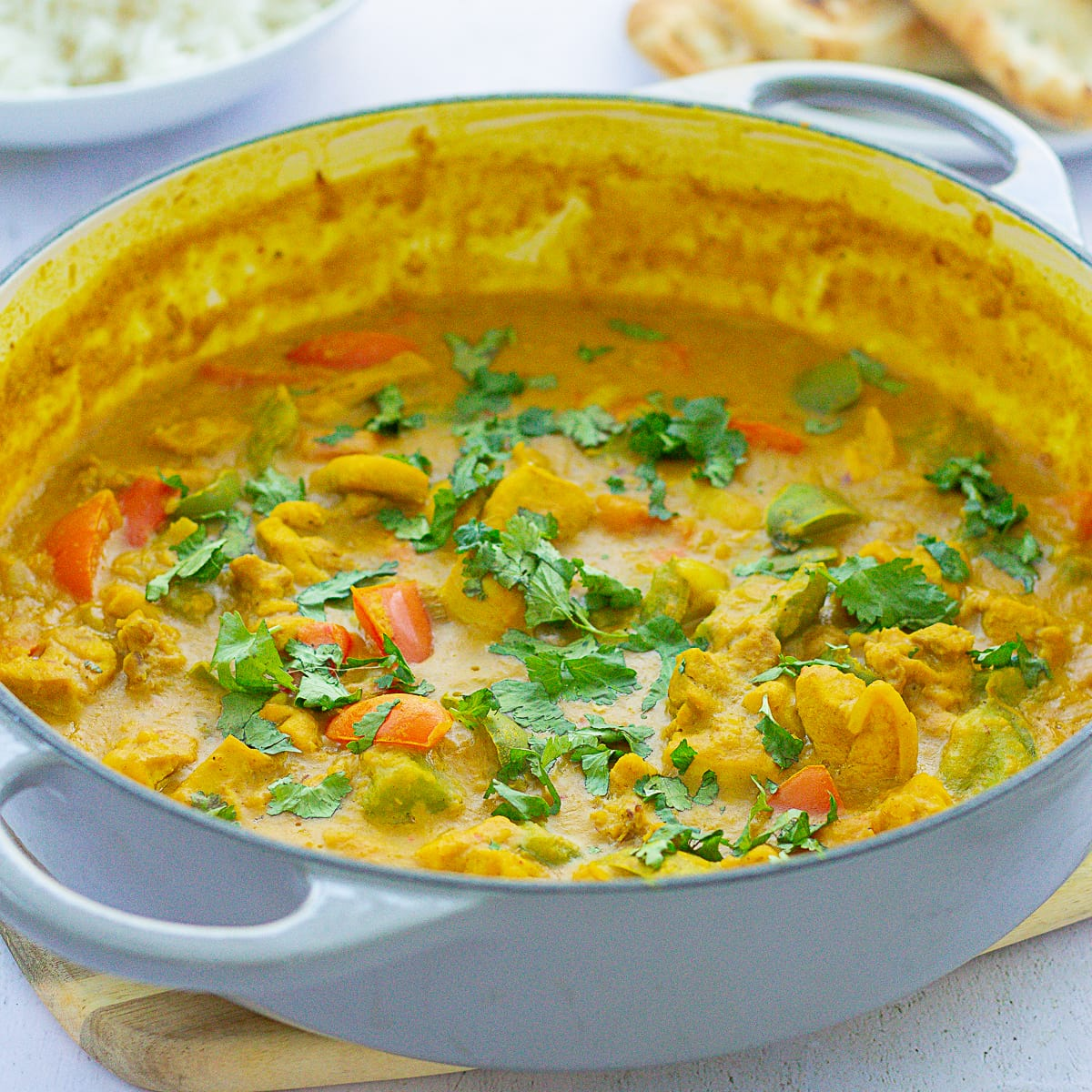 Chicken, Red Lentil and Coconut Curry